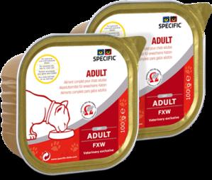 Specific FXW Adult  7x100 g. vådfoder til katte