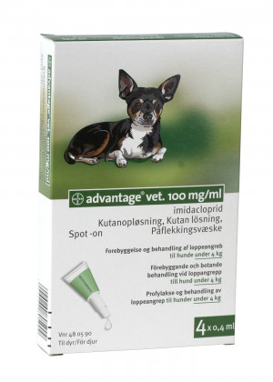 Advantage hund 0-4 kg