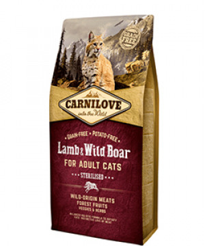 Carnilove Cat Adult - Lamb & Wild Boar