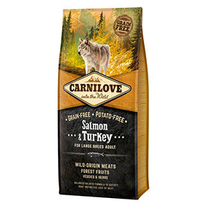 Carnilove Adult Dog, Salmon & Turkey, 12kg