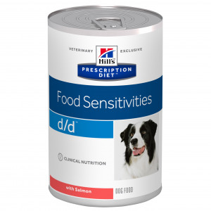 Hills Prescription Diet Canine d/d vådfoder Salmon and Potato á 370 g