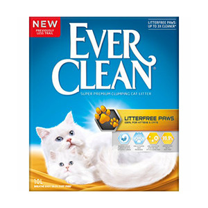 ever clean litterfree paws 10