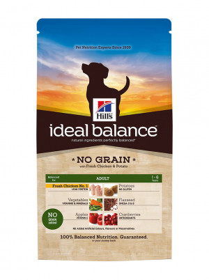 Hills Ideal Balance Canine Adult No Grain Chicken and Potato