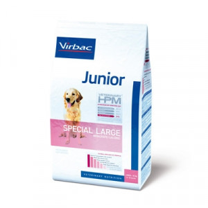 Lagersalg -Virbac HPM Junior Dog Special Large