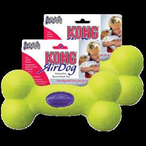 Kong AirDog Squeaker Bone tennisbold