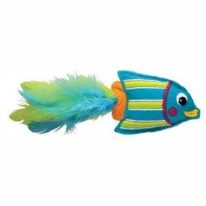 KONG Cat Tropics Fish Blue