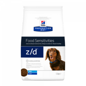 Hills Prescription Diet Canine Z/D Mini Allergy