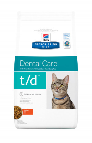Hills feline T/D dental care cat