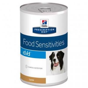 Hills Prescription Diet Canine d/d vådfoder Lamb and Rice 370 g
