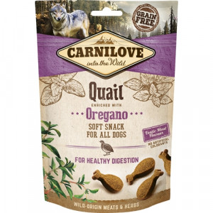 Carnilove Dog Semi Moist Snack Quail
