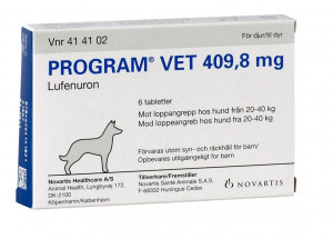 Program Vet til Hund 6 tabl 20-40 kg