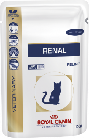 Royal Canin Renal kat kylling á 85 gram