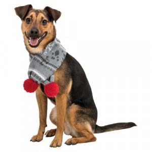 Jule tørklæde til hunde - fås i flere størrelser
