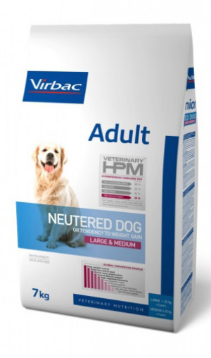 Virbac HPM Adult Dog Neutered Large & Medium 7 kg