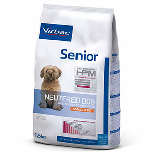 Virbac HPM Dog Senior Neutered Small & Toy