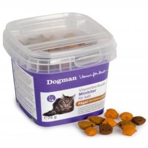 Dogman Vitaminberiget Minibidder Fugl Kat